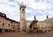 Piazza Duomo with the Torre Civica, Trento, Italy